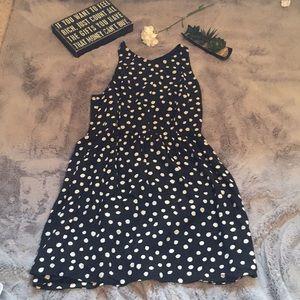 Rebecca Taylor Sill black white polka dot dress